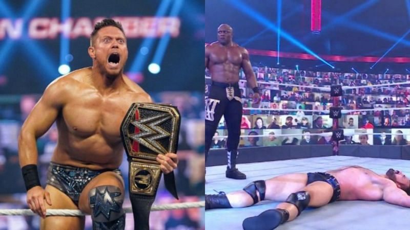 Elimination Chamber में ड्रू मैकइंटायर, द मिज के हाथों WWE चैंपियनशिप हार गए