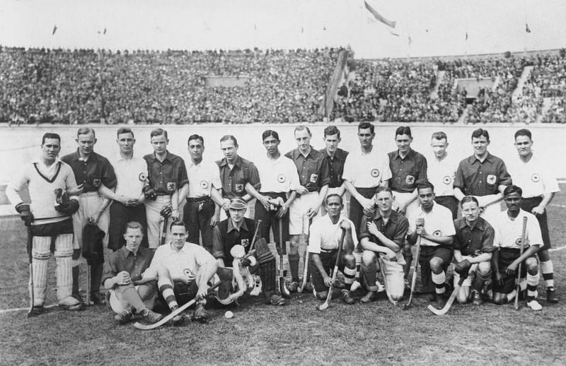 1928 Summer Olympics - Hockey- India vs the Netherlands