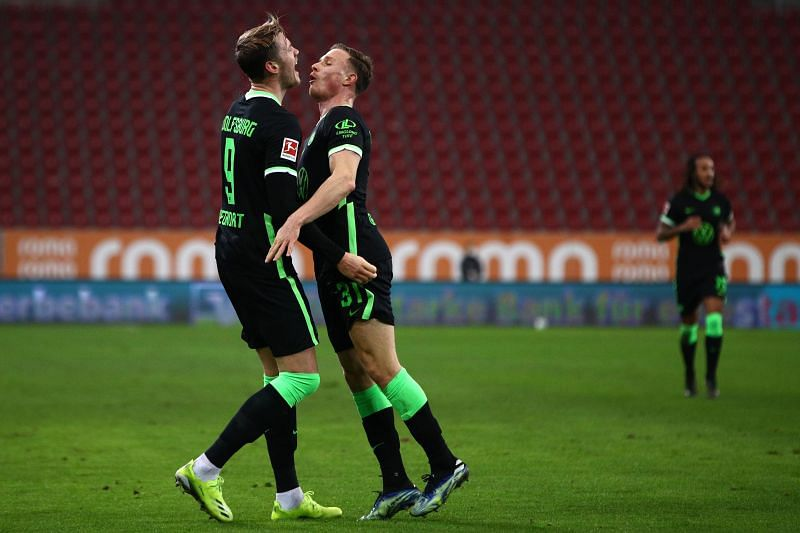 Wout Weghorst has been in magnificent goal-scoring form for Wolfsburg
