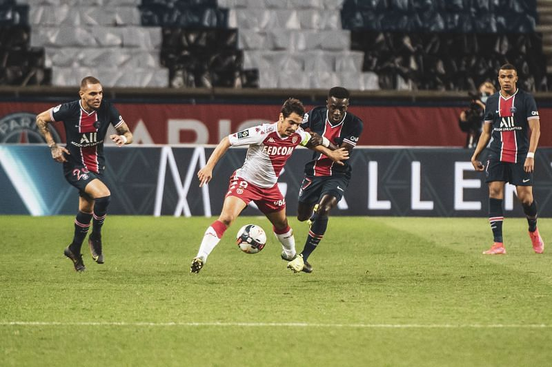 Monaco defeated PSG away from home