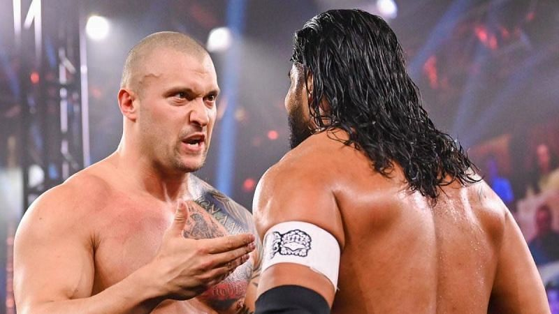 Karrion Kross will be unleashed tonight against Santos Escobar - Photo credit: WWE via WhatCulture