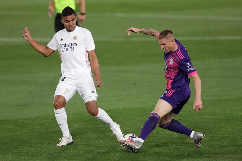 Real Madrid beat Valladolid 1-0 earlier this season