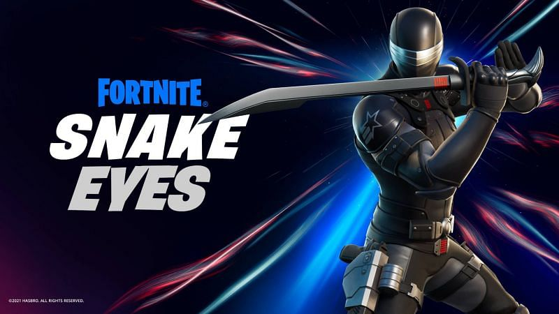 (Image via Epic Games) Snake Eyes is GI Joe