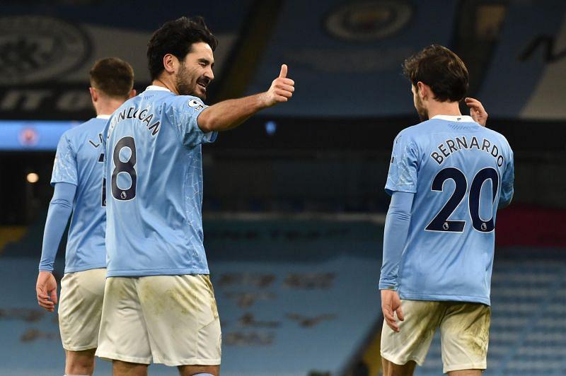 Manchester City thumped Tottenham 3-0