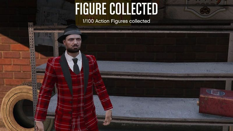 Action Figures were added to GTA Online as part of the Diamond Casino and Resort update (Image via GamesRadar)