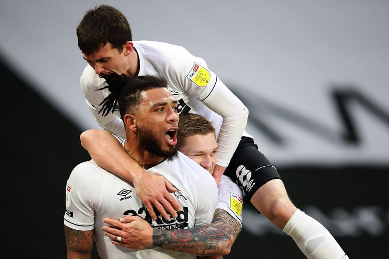 Derby County play Wycombe Wanderers on Tuesday