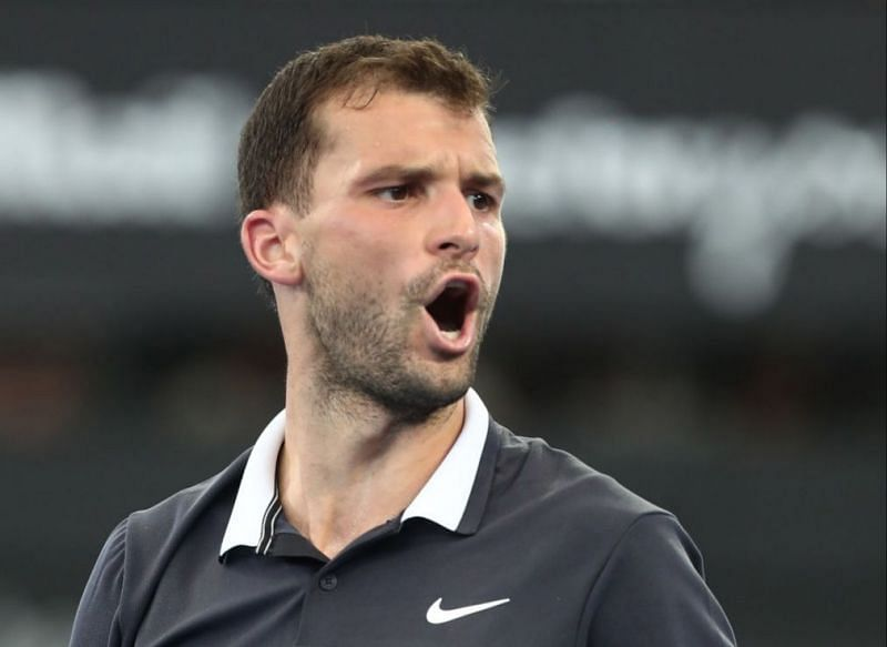 Grigor Dimitrov suffered a second round exit at last year
