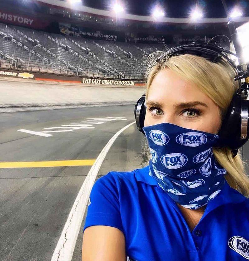 Katie Osbourne has been around motorsports for years. Photo: Youtube