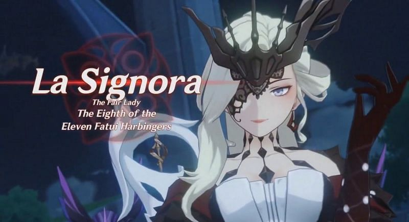 Everything known about Signora in Genshin Impact so far.