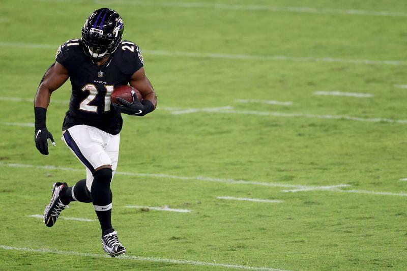 Former Baltimore Ravens RB Mark Ingram