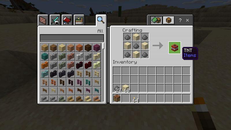 Crafting TNT