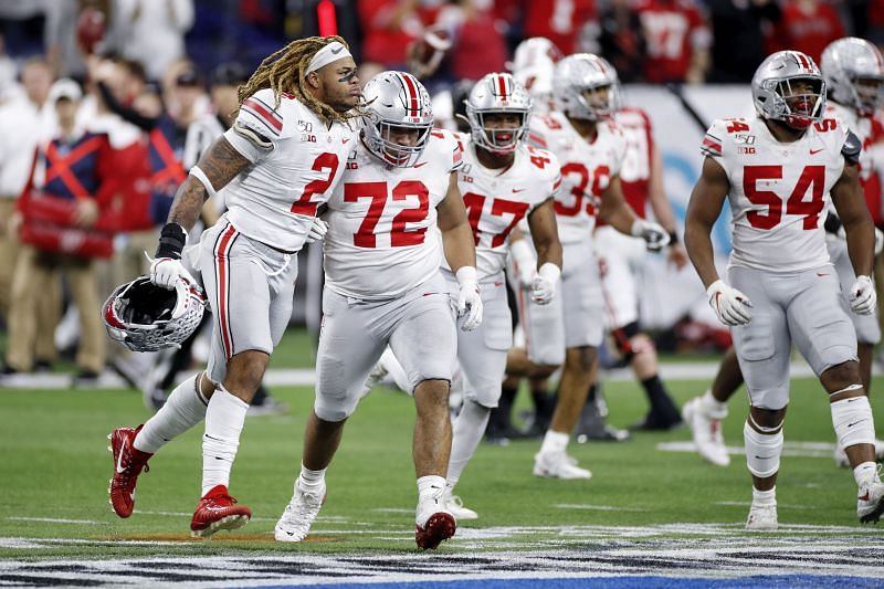 Ohio State DT #72 Tommy Togiai