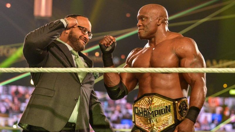 Bobby Lashley and MVP have built up The Hurt Business