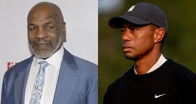 Mike Tyson (Left) and Tiger Woods (Right)