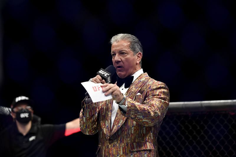UFC announcer Bruce Buffer is celebrating 25 years with the promotion