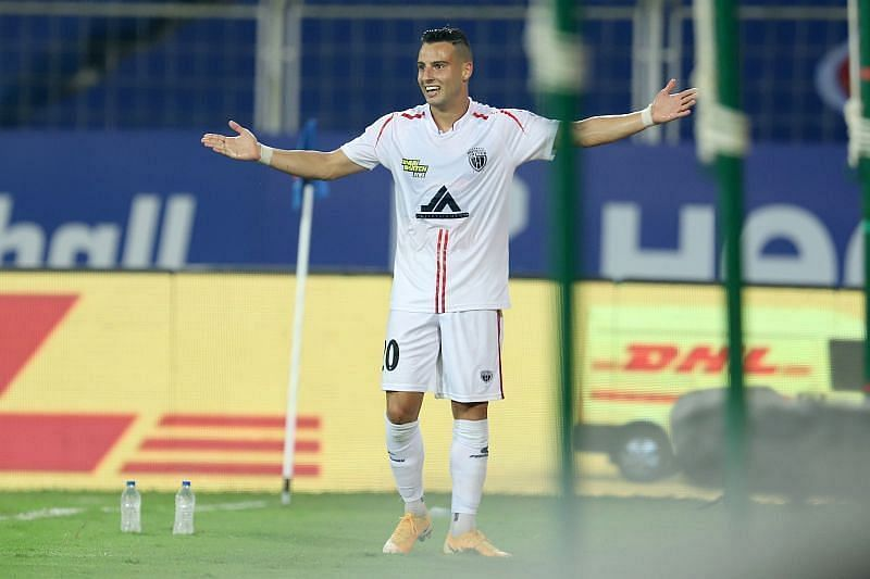Luis Machado is the engine of NorthEast United FC