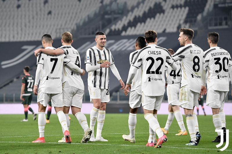 Juventus beat Crotone 3-0 in the Serie A.