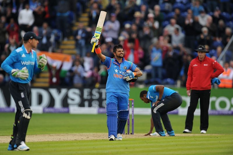 Suresh Raina has returned to form with a swashbuckling hundred in a T20 match.