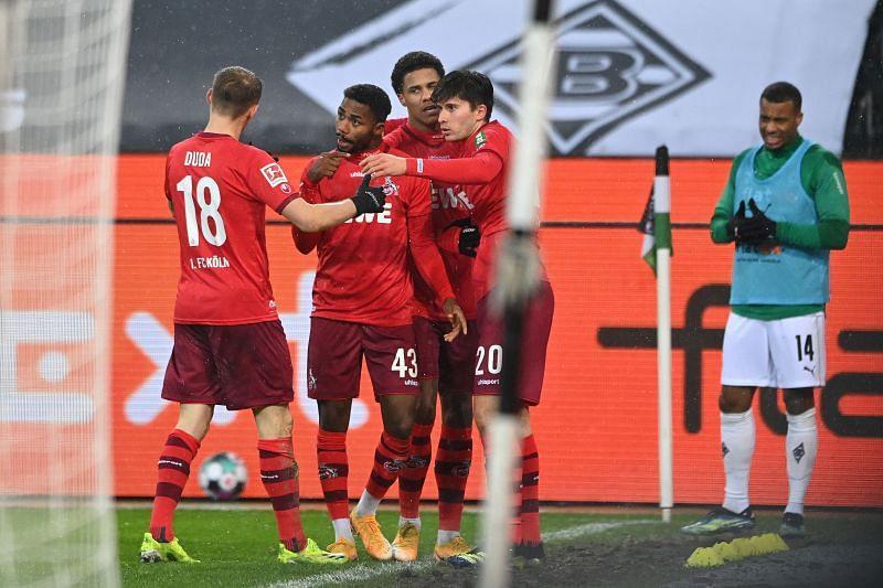 FC Koln beat Borussia Monchengladbach 2-1 in their last game