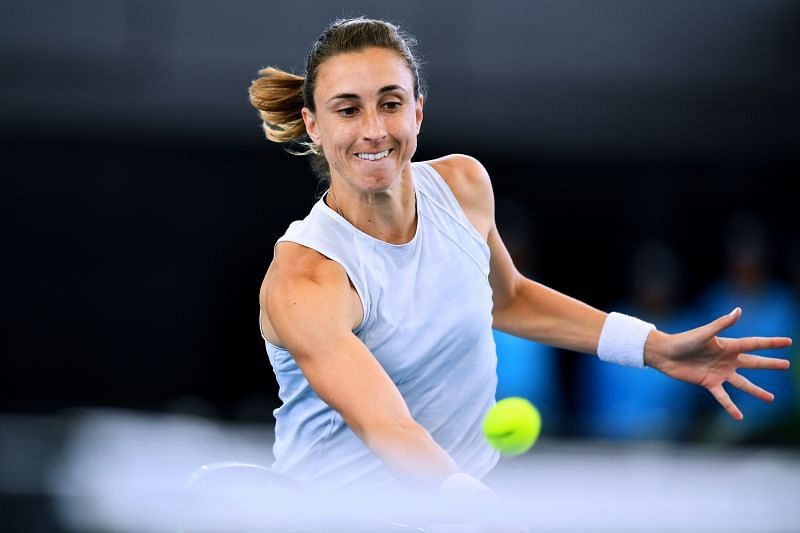 Petra Martic will need to make the best use of big serve and front court skills.