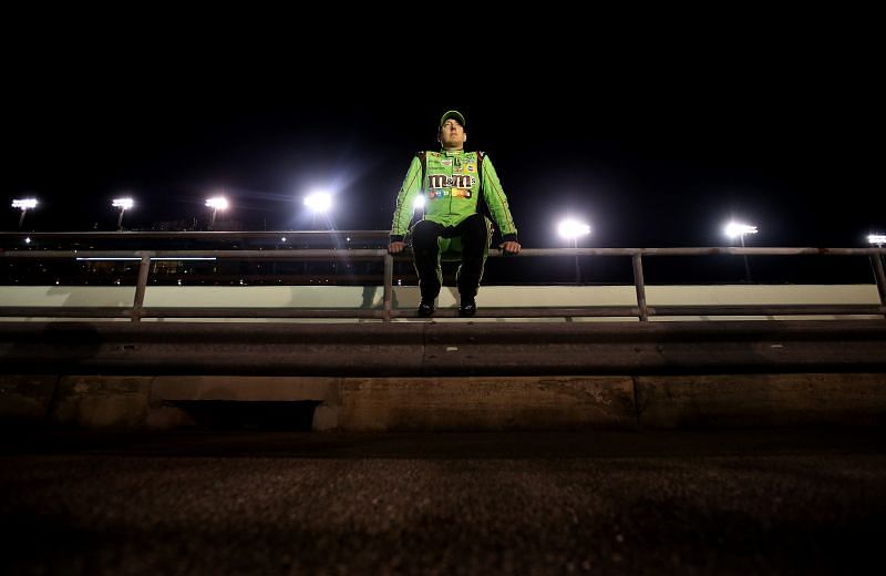 Kyle Busch is one of the strong contenders for the first of the seven road course race at Daytona. Photo: Getty Images