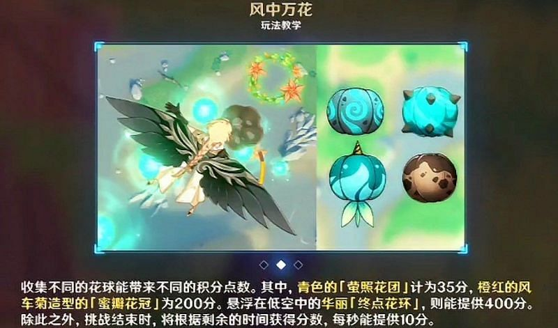 Leaked image of the gliding challenge in the Windbloom Festival (Image via GI info and updates FB)