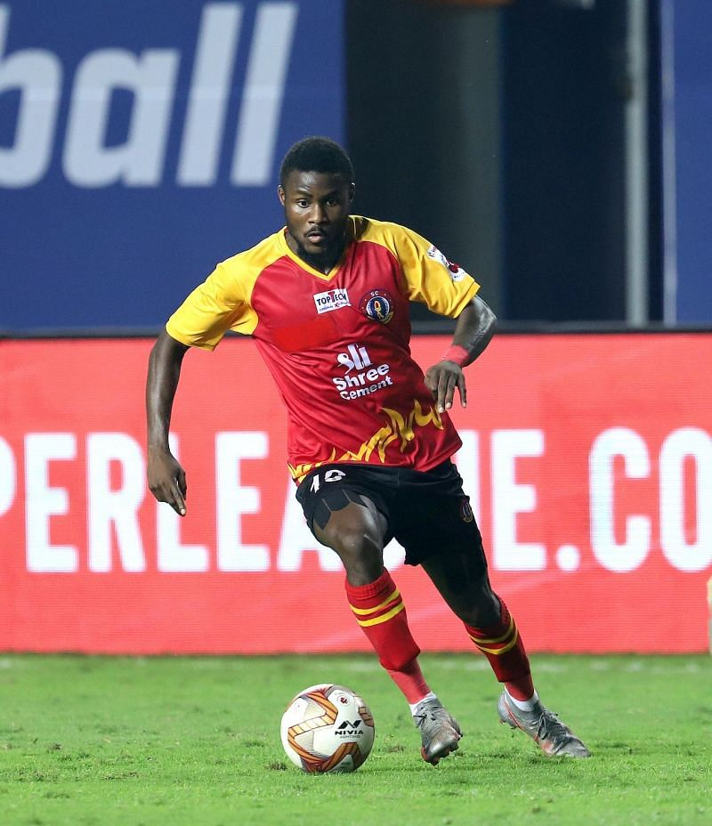 SC East Bengal have looked a different side since the arrival of Bright Enobakhare (Image Courtesy: ISL Media)