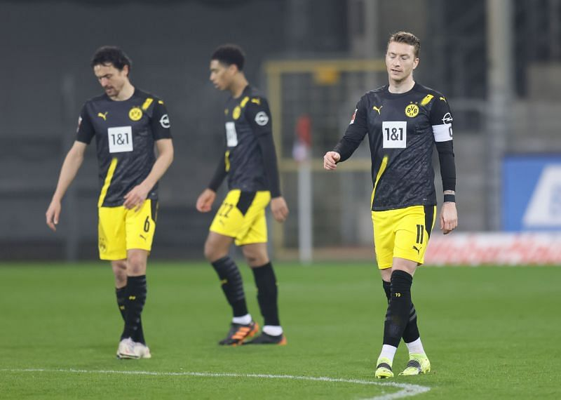 Borussia Dortmund have lost three of their last four league games