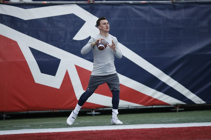 Johnny Manziel made his debut in the Fan Controlled Football League