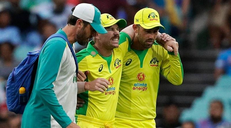David Warner sustained the groin injury last year