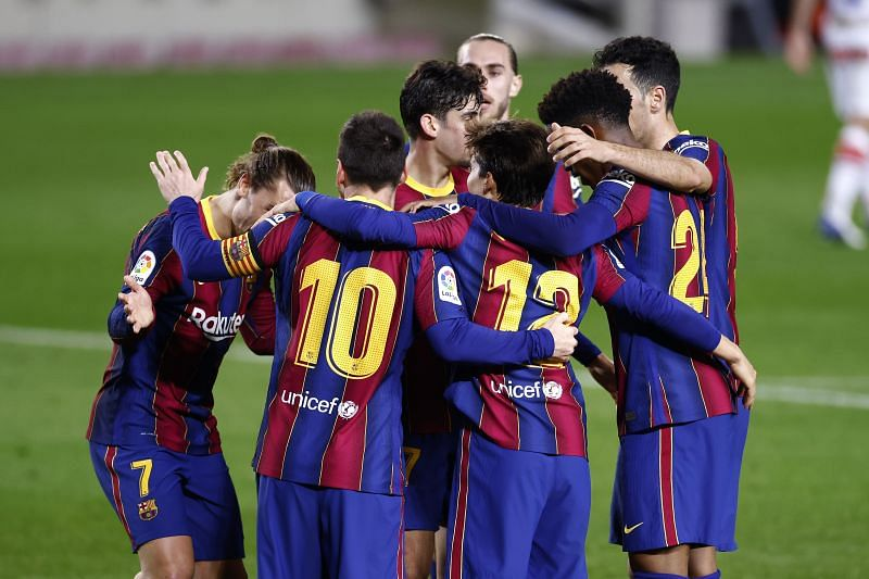 Barcelona are 12 games unbeaten in La Liga