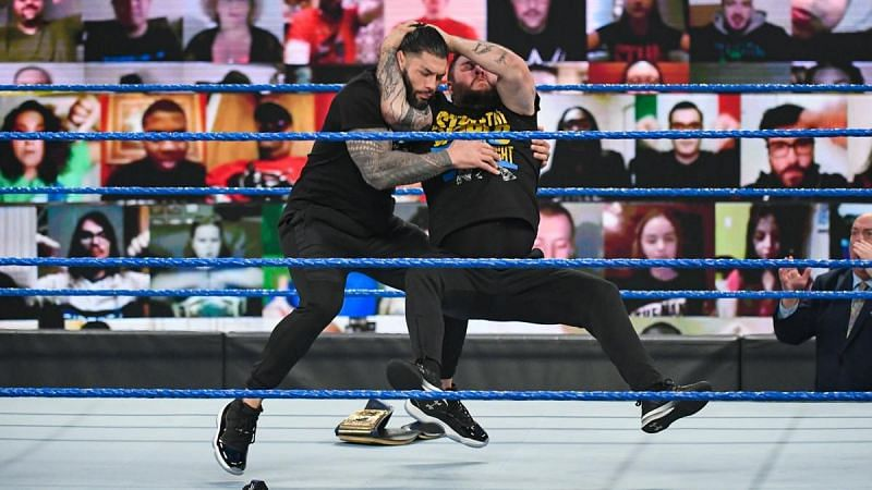 Kevin Owens had a surprise attack planned