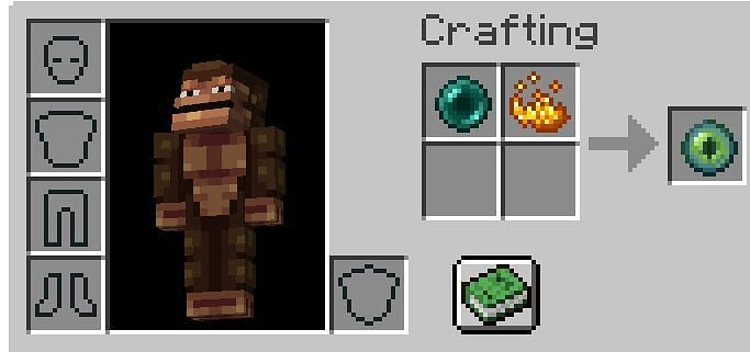 Eye of Ender Recipe (Image via Minecraft)