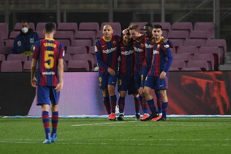 FC Barcelona vs Elche CF - La Liga Santander