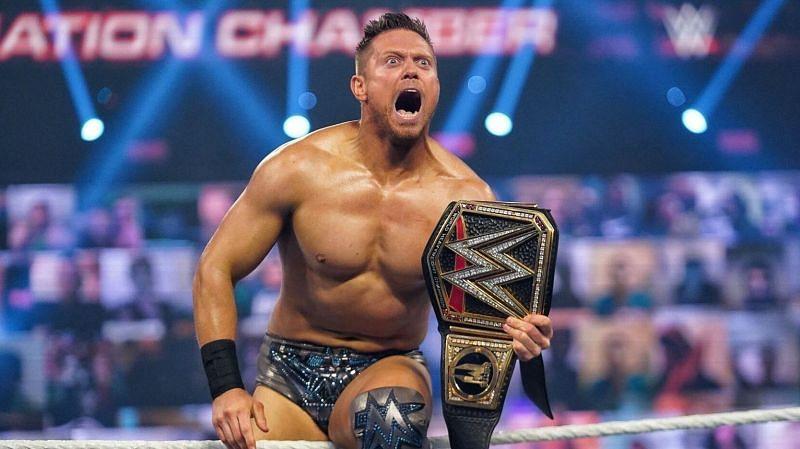 द मिज Elimination Chamber 2021 में WWE चैंपियन बने थे