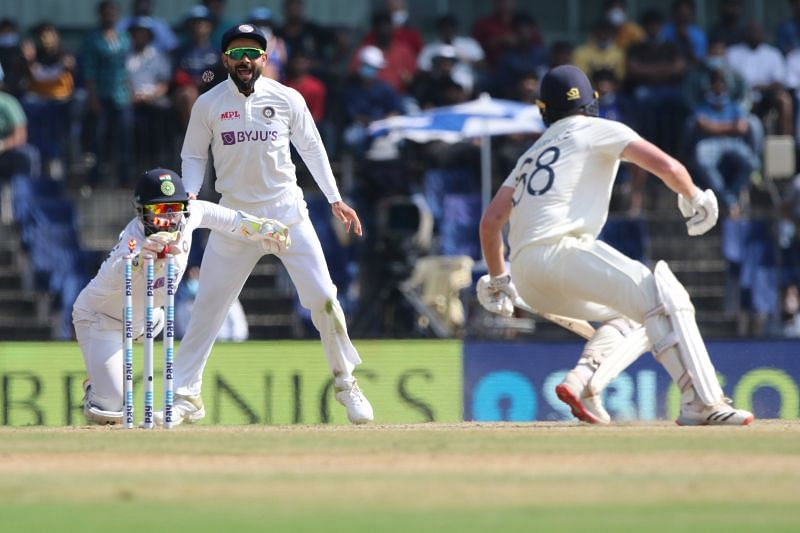 Rishabh Pant was surprisingly excellent with his glovework in Chennai