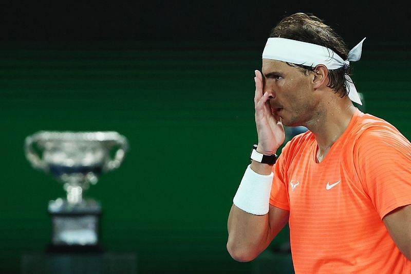 Rafael Nadal suffered an upset loss to Stefanos Tsitsipas
