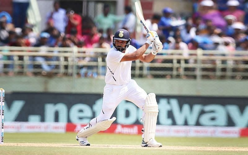 Rohit Sharma in action for the Indian Cricket Team