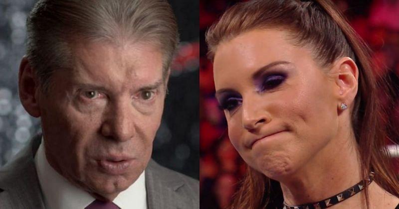 Vince and Stephanie McMahon.