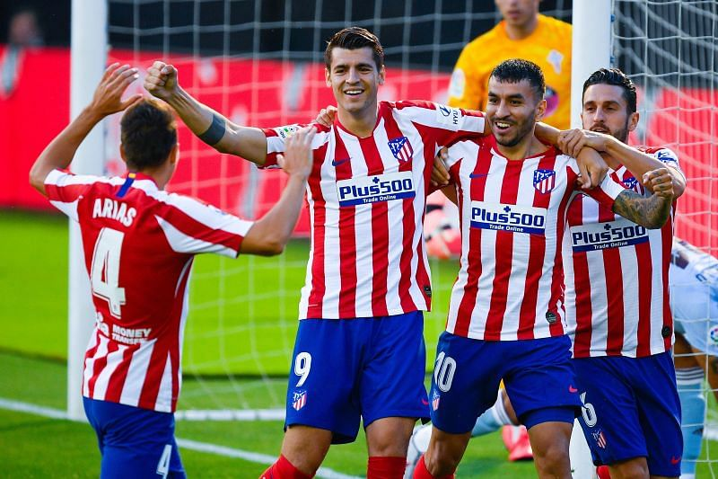 Atletico Madrid take on Celta Vigo this weekend