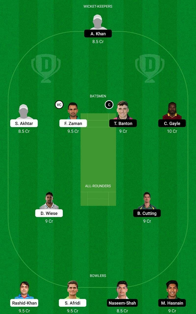 LAH vs QUE Dream11 Tips