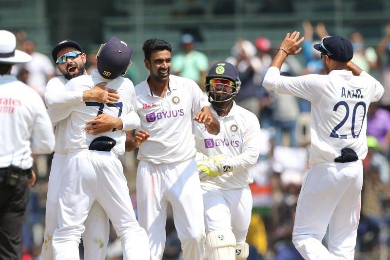 Ravichandran Ashwin celebrates a wicket. Pic: BCCI