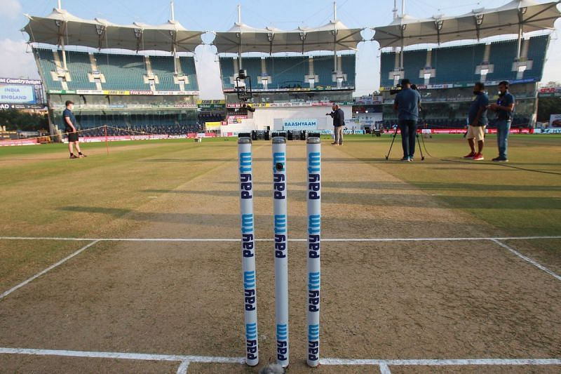 The pitch in Chennai has favoured the spinners