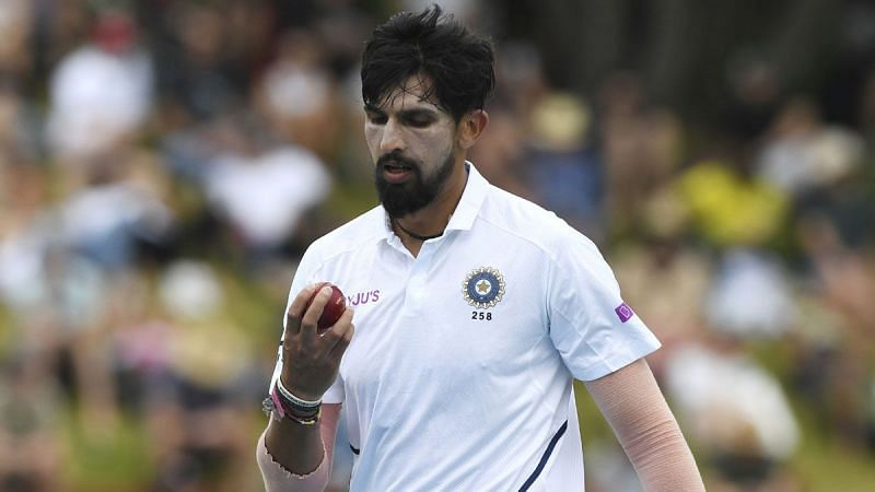 Ishant Sharma in Test action for Team India