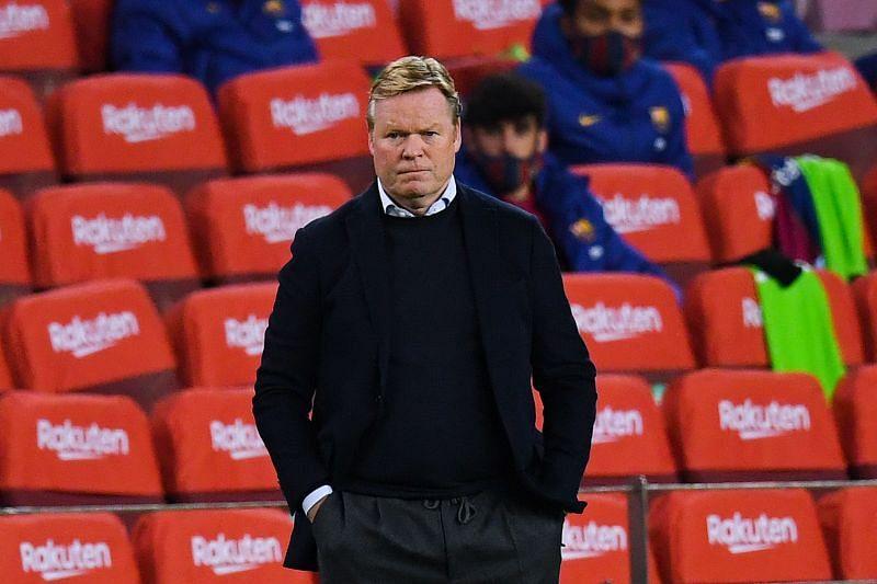 Barcelona boss Ronald Koeman has been forced to play tinkerman this season