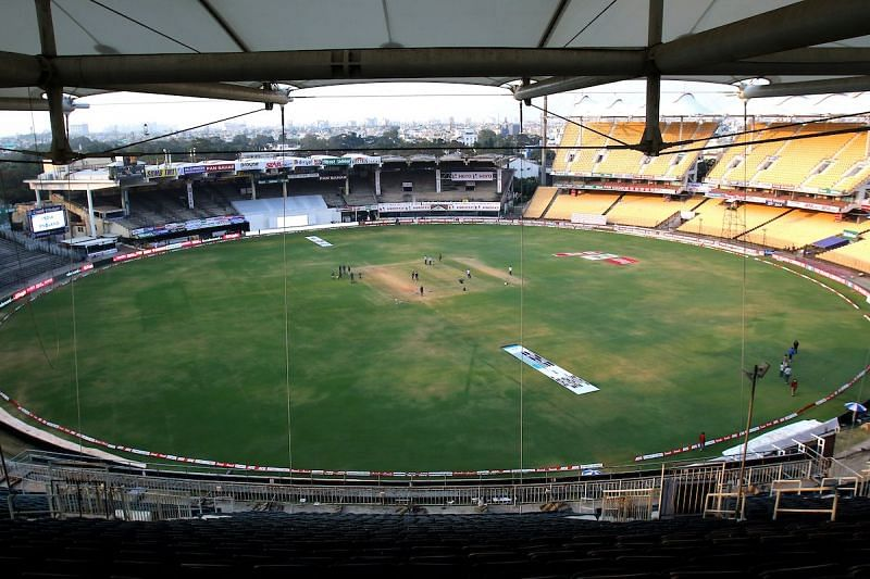 The first two Tests are scheduled to be held at the Chepauk in Chennai [Credits: BCCI]