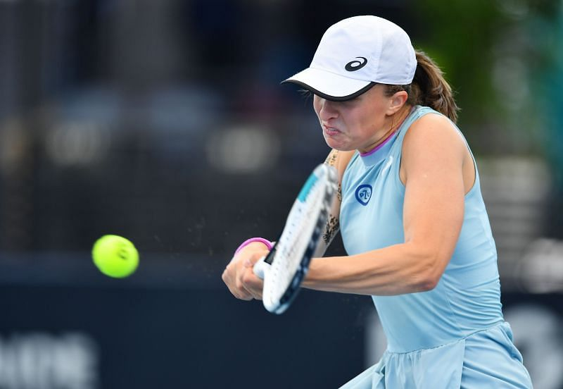 Iga Swiatek will be looking to back up her second week run at the Australian Open