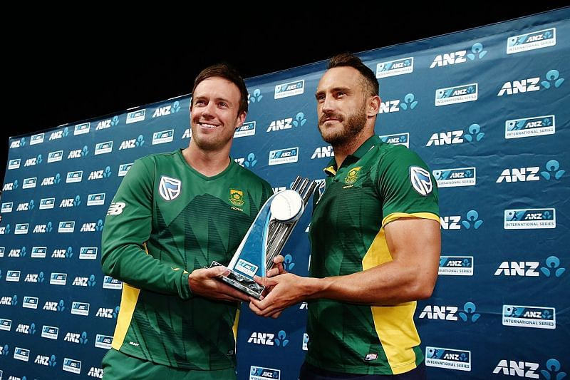 AB de Villiers and Faf du Plessis are close friends off the field