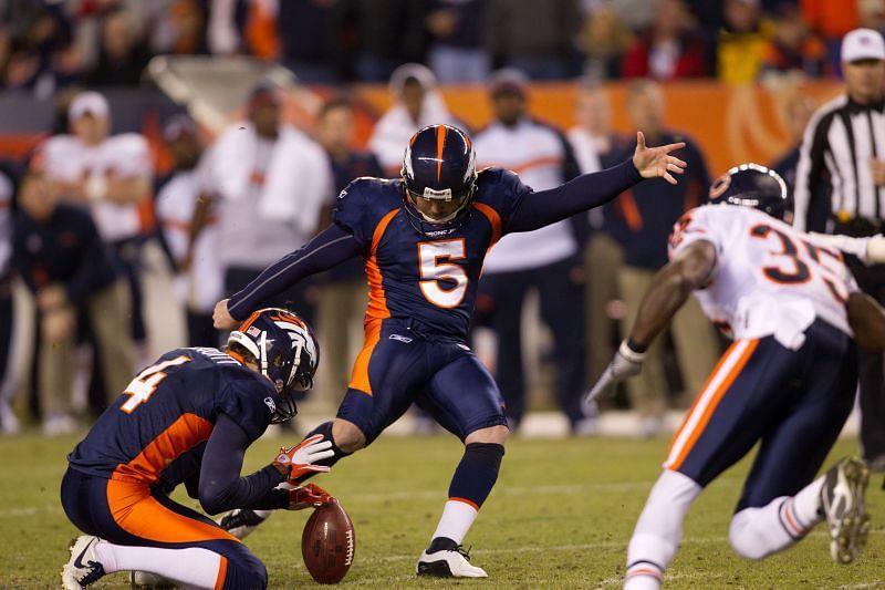 Former Denver Broncos kicker Matt Prater