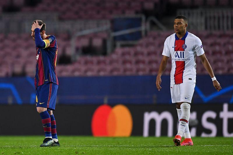 FC Barcelona vs Paris Saint-Germain - UEFA Champions League Round of 16 First Leg